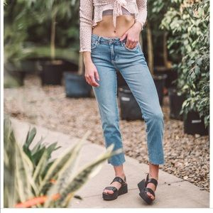 Free people girlfriend jeans